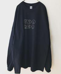 UNDOREDO BIGロゴロンT ブラック XL