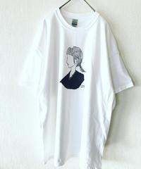 UNDOREDO GIRLイラストT  XL  ホワイト