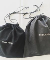 UNDOREDO キンチャク(ブラック/ チャコール)