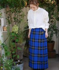 ◇ GLEN FYNE ◇ ツイルチェック ラップスカート