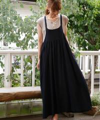 ◇ D*g*y ◇ リネンレーヨンキャミソールサロペットスカート