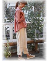 ◇ LILASIC ◇ スキッパータックシャツ