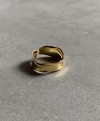 ring-a02014 SV925 Wave  CutLine  Ring