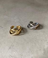 ring-a02009 SV925 Multiplecross Volume Ring