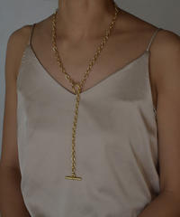 necklace-a02016 Mantel Oval chain Necklace