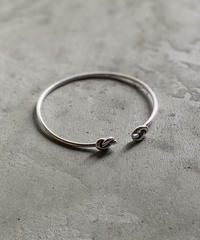 brace-a02001 SV925 Double Knot Bangle