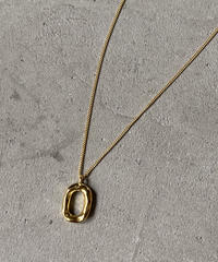 necklace-a02001 SV925 Nuance Oval Necklace