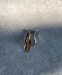 ring-a02031  SV925 Wide Asymmetry Ring