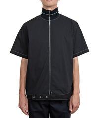 NULABEL ニューレーベル / ZIPUP SHIRT S/S ジップアップシャツ  / 113304