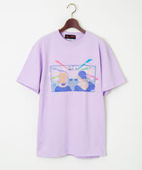 AndArts 「佐藤なつみ - Neon Drive by peloringirl」 T-SHIRT【オフィシャル限定色】 / 108-ART-2004-B-01-0013 LP