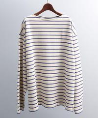 unfil アンフィル / vintage cotton jersey breton shirt / WOSP-UM210