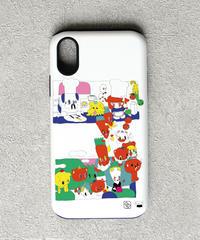 And A x 影山紗和子 「逃亡クッキングTV」 iPhoneハイブリッドケース / 104-ART-1911-H-02-0036