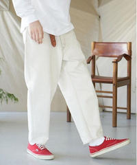 unfil アンフィル / 12oz cotton denim 5pocket wide tapered pants / WOSP-UM203