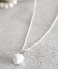 NIM ニム / Baroque Pearl Top Necklace バロックパールトップネックレス / NIM201PL