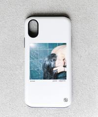 And A x KANA AKIYAMA 「My friend」 iPhoneハイブリッドケース / 104-ART-1911-H-01-0006