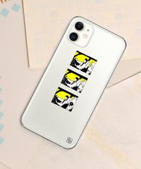 And A x 鈴木 夏菜 「UTSURU」 iPhoneクリアケース / 104-ART-1911-N-01-0035