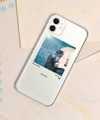 And A x KANA AKIYAMA 「My friend」 iPhoneクリアケース /  104-ART-1907-N-01-0006