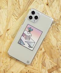 AndArts 「millitsuka - 朝でも夜でもない」 iPhone Case / 104-ART-2004-N-01-0044