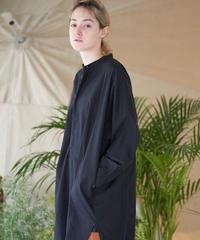 unfil アンフィル / washed cotton-poplin oversized shirt / WOSP-UW116