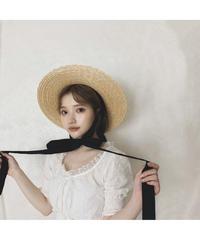 【Summer 1】long  ribbon straw hat(cg00020)