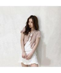 【Summer 31】lib frill mini cardigan(S20-01203K)