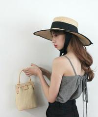 wood purse bag (S19-08023K)-BEG.SOL/F