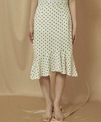 mermaid dot skirt (3colors)