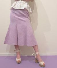 mermaid linen skirt