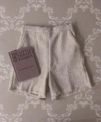 tweed short pants