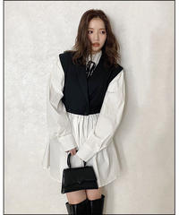 【Autumn 39】layered like tunic shirt