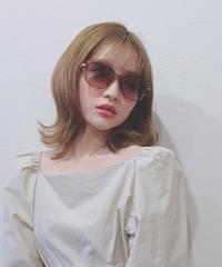 slim square sunglasses (S19-10077K)-BRN.SOL/F