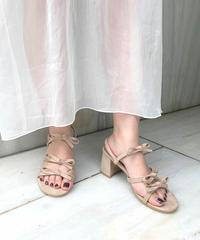 ribbon sandal (S19-07013K)