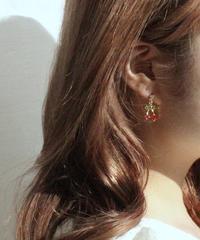 cherry bijou pierce (S19-10108K)-RED.SOL/F