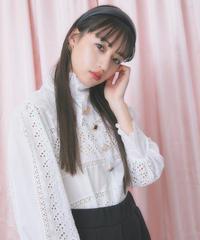 lace color button blouse (S20-01184K)