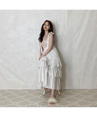 【Summer9】volume tiered long skirt (S20-03052K)