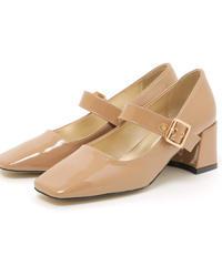 square toe strap shoes (S19-07010K)