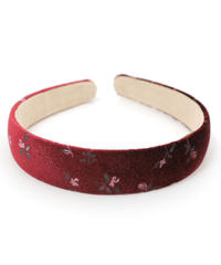 vintage flower head band (A19-10113K)