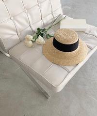 summer  mannish hat