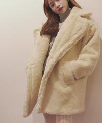 boa big silhouette coat (A18-06016K)