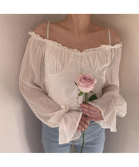 《LAST 1》lady strap off shoulder (S19-01106K)