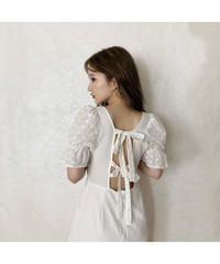 【Summer 15】back double ribbon mini one-piece (cg00011)
