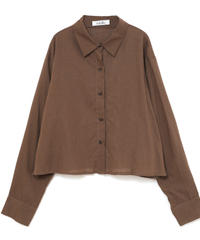 long sleeve shirts outer (S19-06027K)-BRN.SOL/F