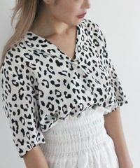 leopard blouse (S19-01131K)