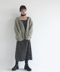 poodle loop big cardigan(A19-06031K)