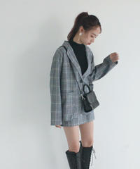 check jacket & skirt (S19-05019K)