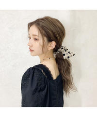【Summer 39】sheer dot ribbon shushu (S20-10150K)