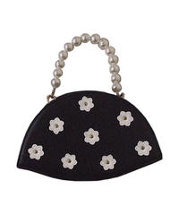 【Autumn 32】flower pearl pochette (A20-08031K)