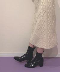 enamel boots (S19-07011K)