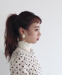 romantic pearl earring (A19-10124K)