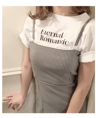 """Eternal Romantic "" tee"